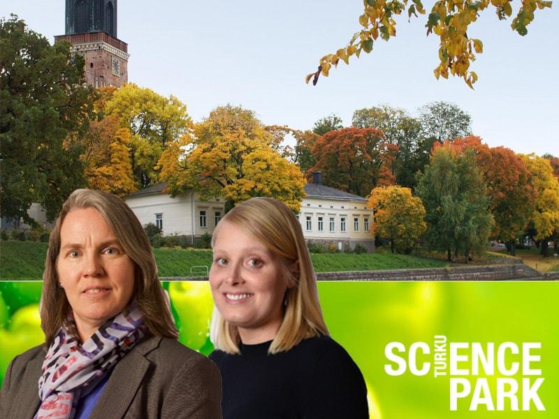 Hilde M. Kopperud, Head of Laboratory, and Ida Stenhagen, Scientist.