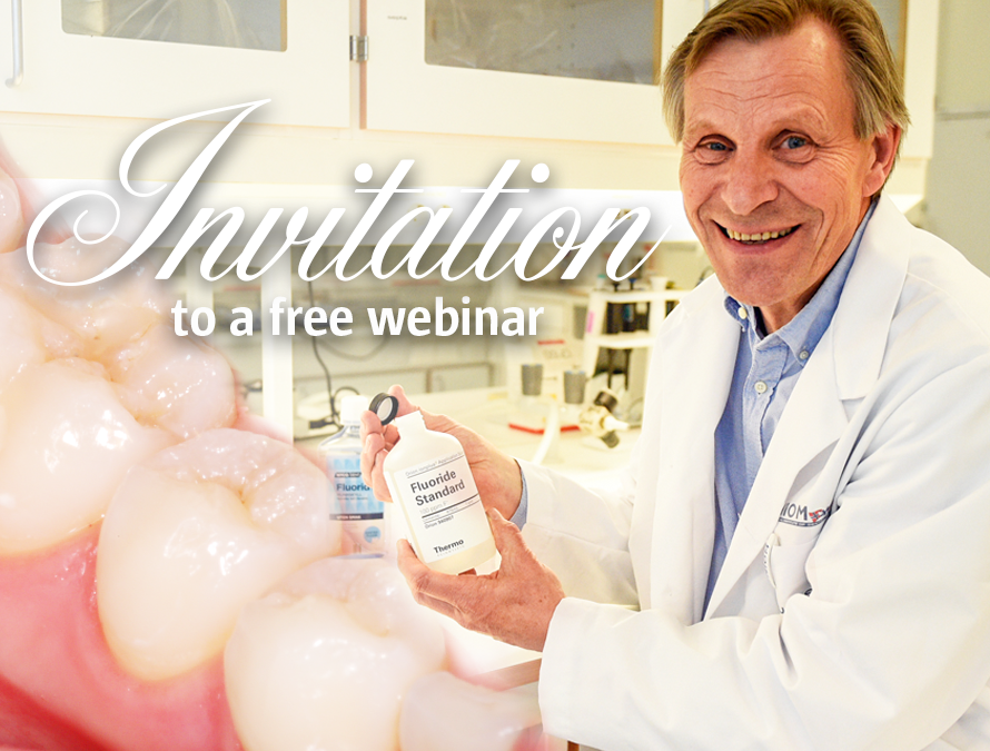 Webinar: Minimal intervention dentistry