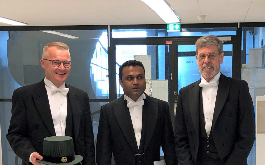 Great ceremony at doctoral examination in Turku